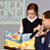 Deron Williams reading to children