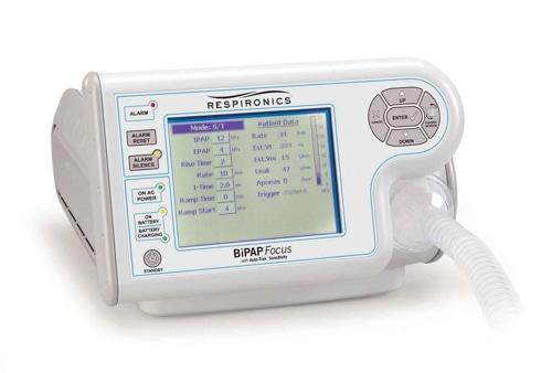 Respironics Focus Ventilator