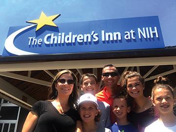 Easton Family at the Childrens Inn
