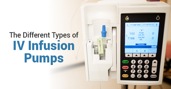 The Different Types of IV Infusion Pumps