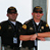Utah Highway patrol filming at Miller motorsports park