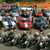 Supercar group shot in Bryce Canyon with Utah highway patrol bikes