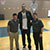 Troy Tait and Bryson Cutler from Med One with Rudy Gobert