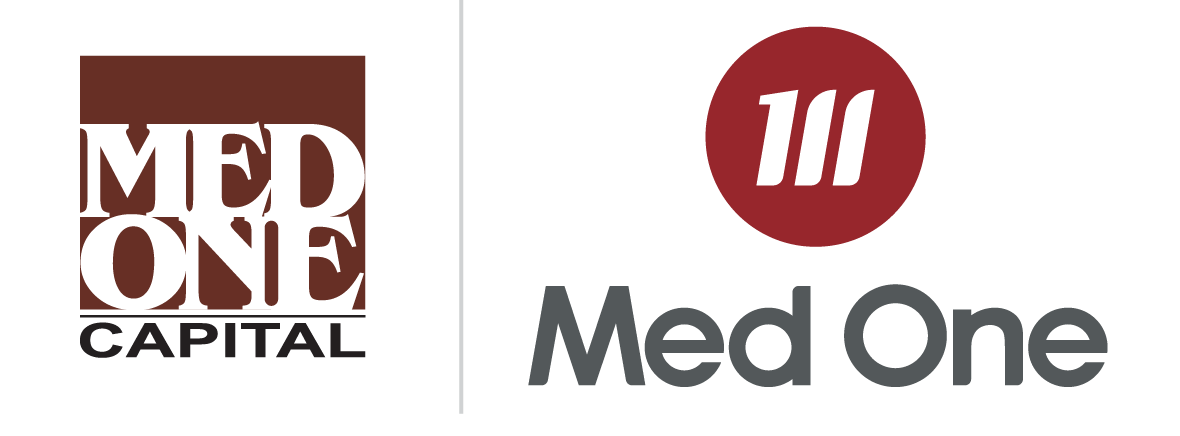 Med One Capital and Med One Group Logos
