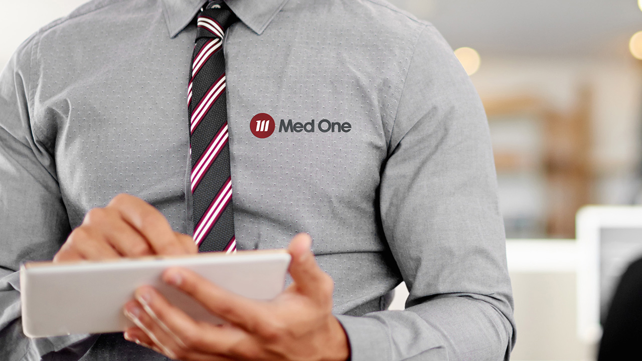 Med One Logo Shirt