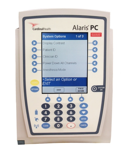 Alaris 8015 PCU - IV Infusion Pump