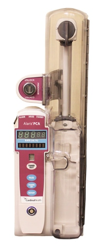 alaris 8120 pca pumps patient controlled analgesia