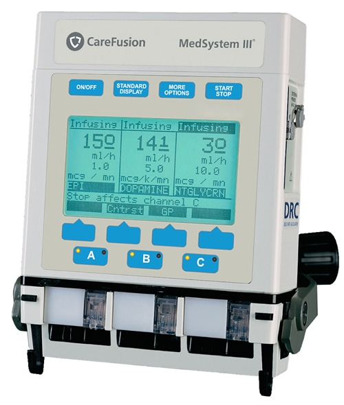 Alaris Medsystem Iii 2865b Infusion Pump Manual Guide