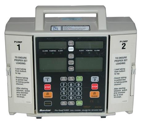 Baxter 6301 Infusion Pump