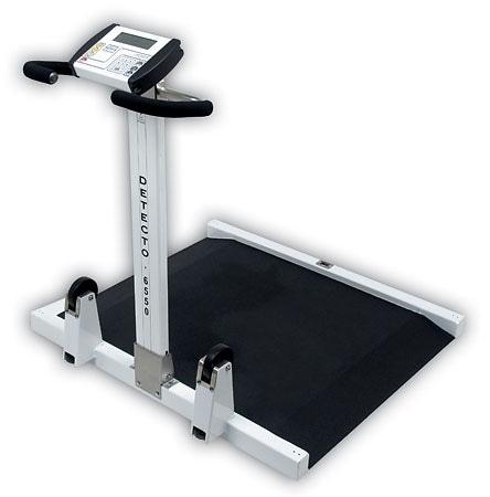 Detecto 6550 Portable Wheelchair Scale