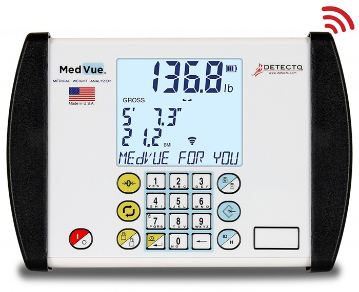 Detecto MV1 Med Vue Weight Analyzer