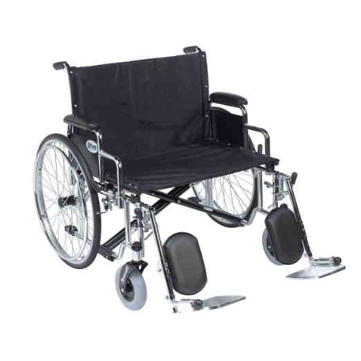 Drive Medical STD30ECDDA Bariatric Wheelchair