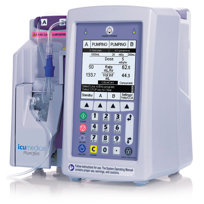 ICU Medical Plum 360 Infusion Pump