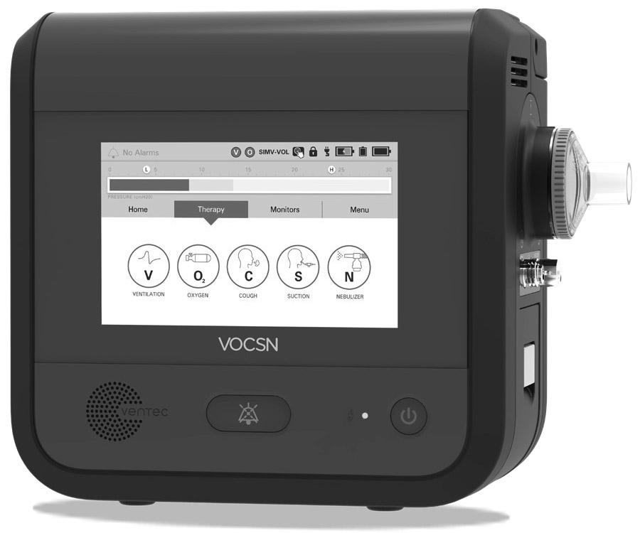 Ventec Life Systems VOCSN Ventilator