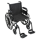 Drive Medical Viper Plus GT 18 inch Wheelchair