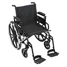 Drive Medical Viper Plus GT 18 inch Wheelchair