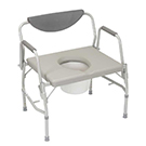 Guardian Drive Medical Bariatric Drop Arm Commode