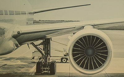 Airplane Jet Engine