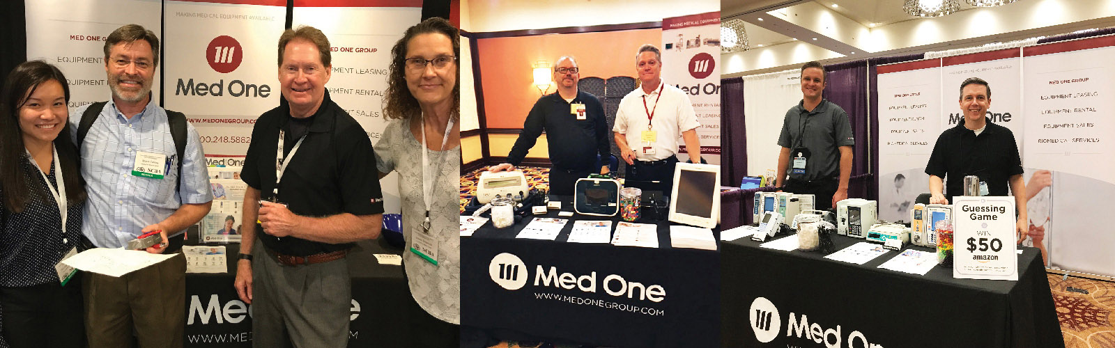 Med One at Various Tradeshows