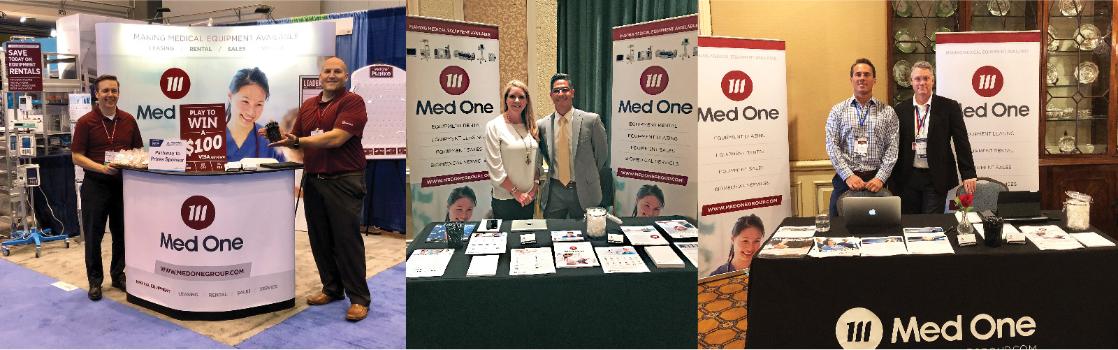 Med One Group attending Multiple Tradeshows