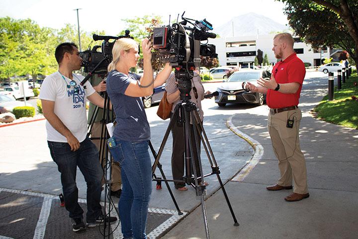 Zero fatalities press interview