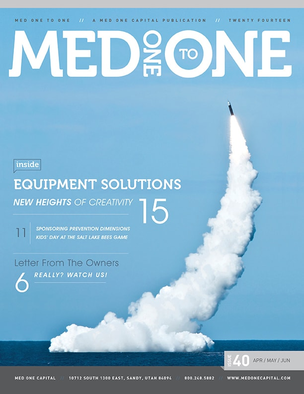 Med One to One Number 40 Cover