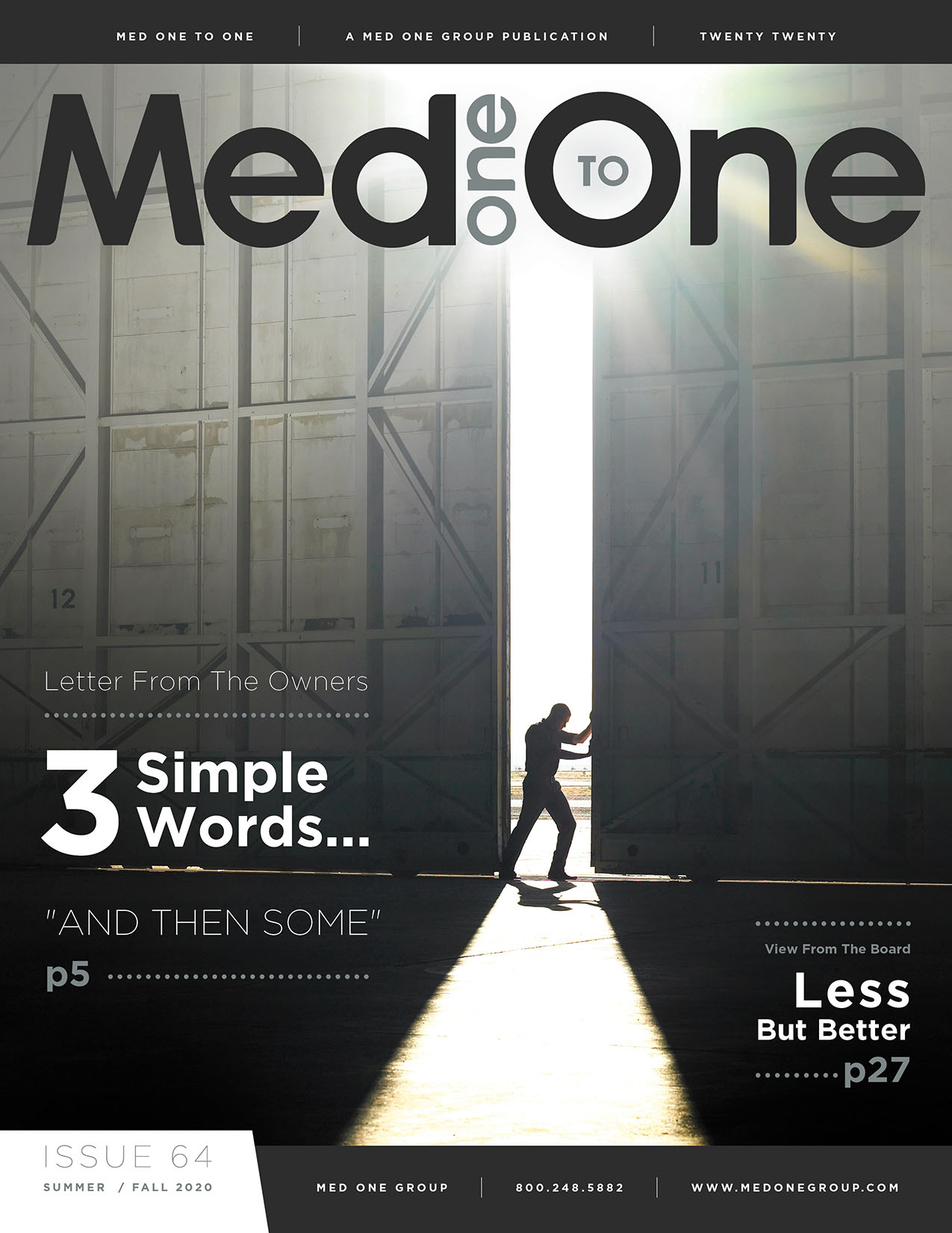 Med One to One Issue 64 Cover