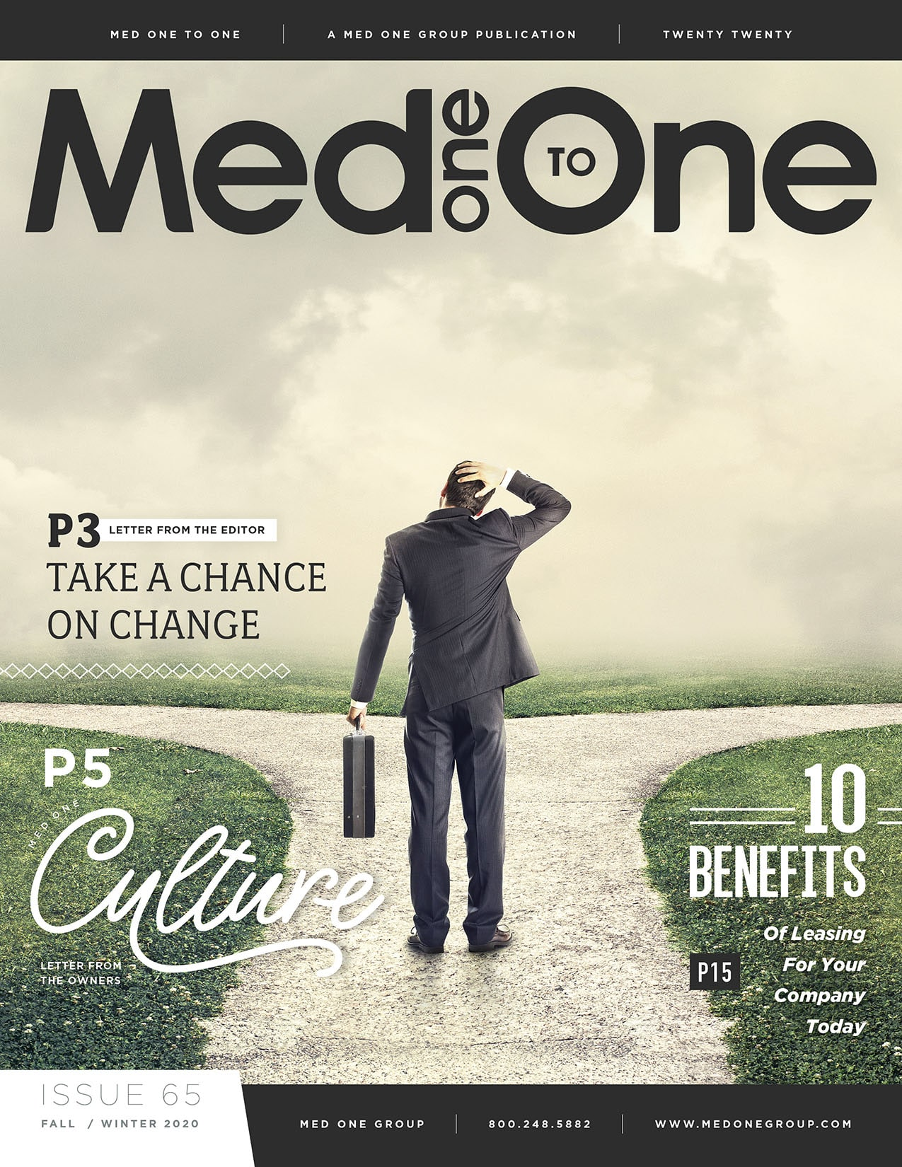 Med One to One Issue 65 Cover
