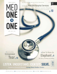 Med One to One Number 32 Cover