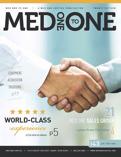 Med One to One Number 43 Cover