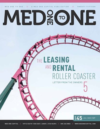 Med One to One Number 45 Cover