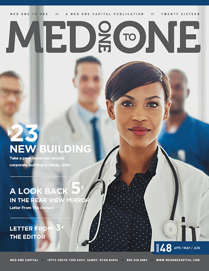 Med One to One Number 48 Cover
