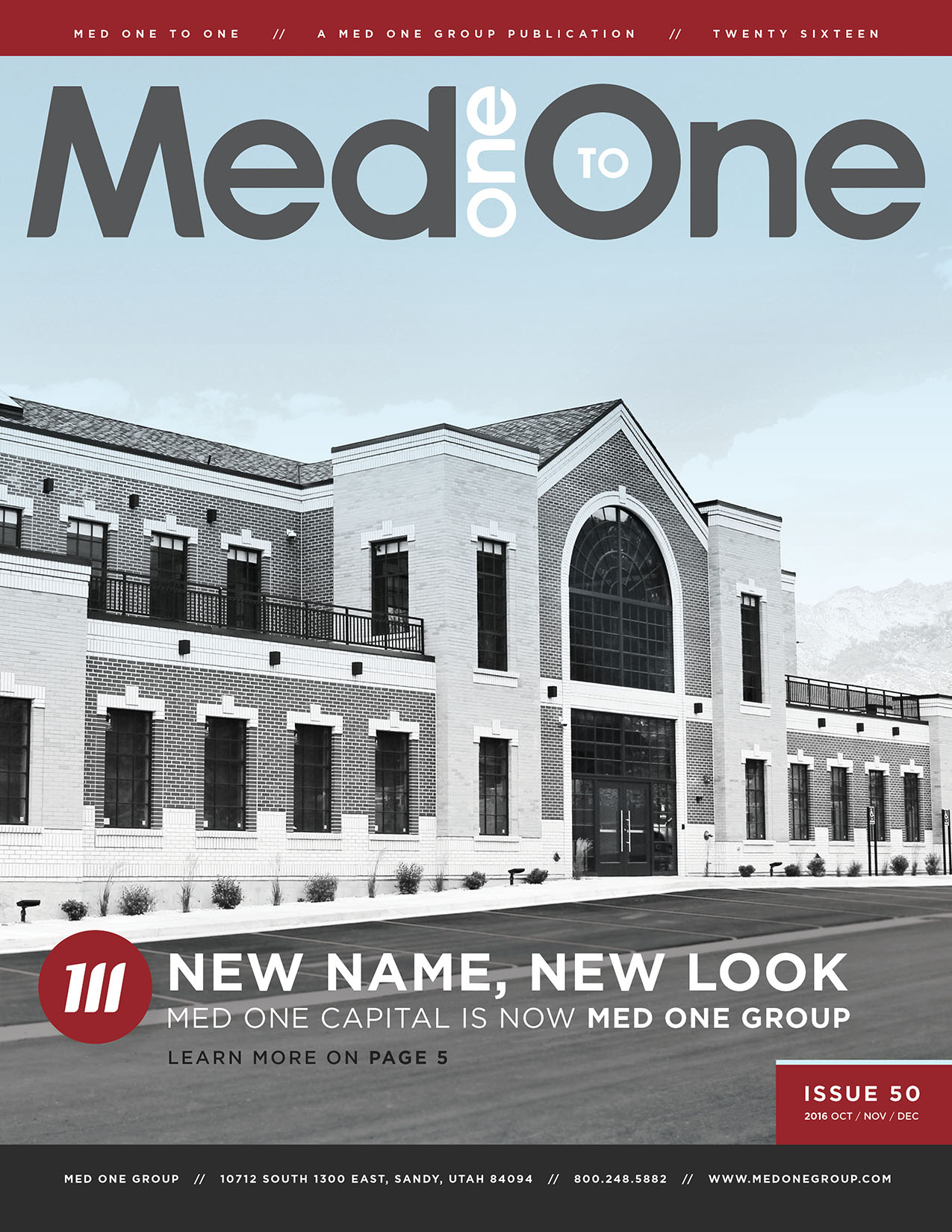 Med One to One Number 50 Cover