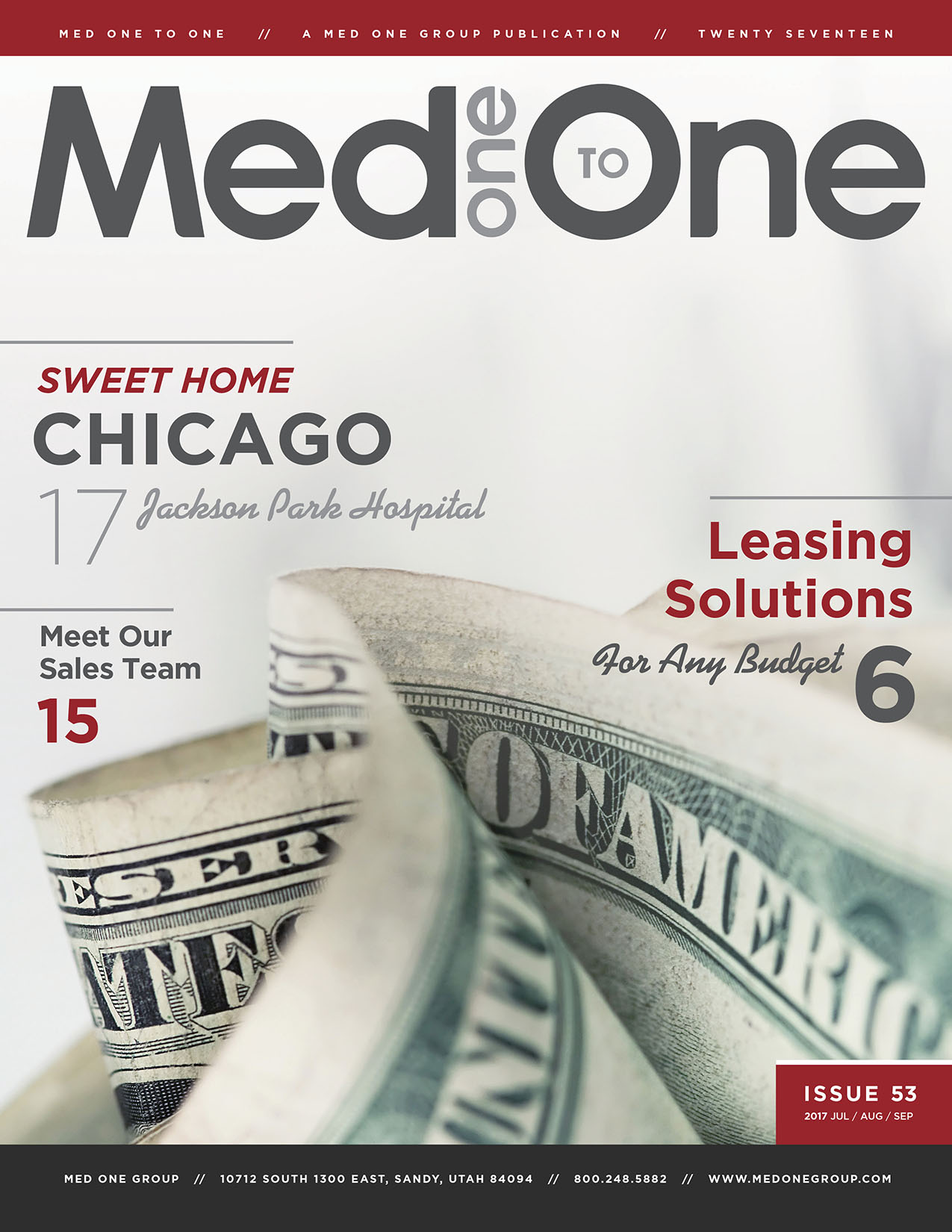 Med One to One Number 53 Cover