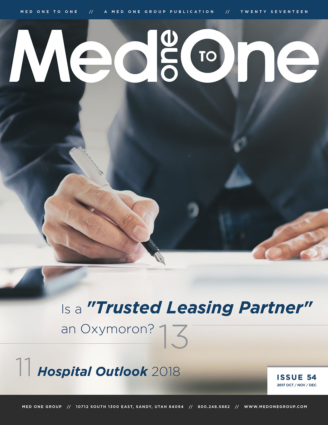 Med One to One Number 54 Cover