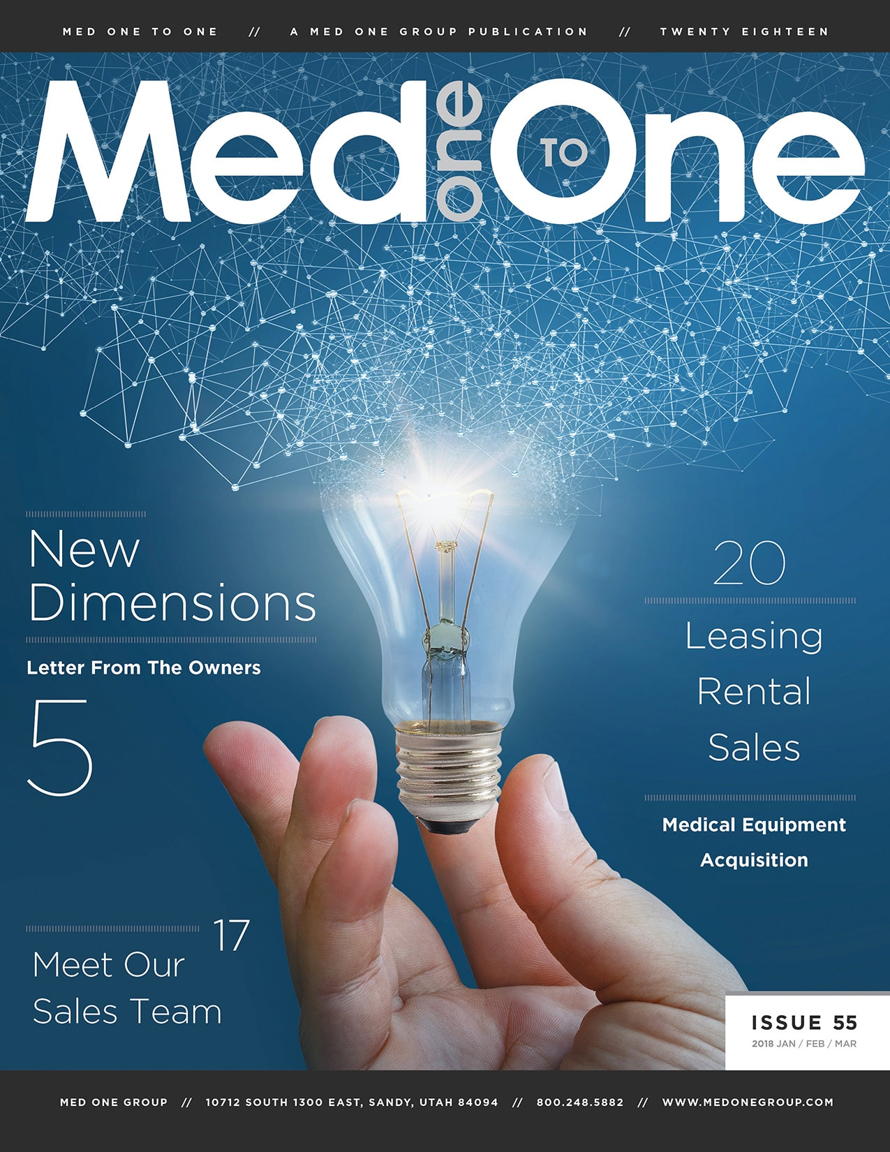 Med One to One Number 55 Cover