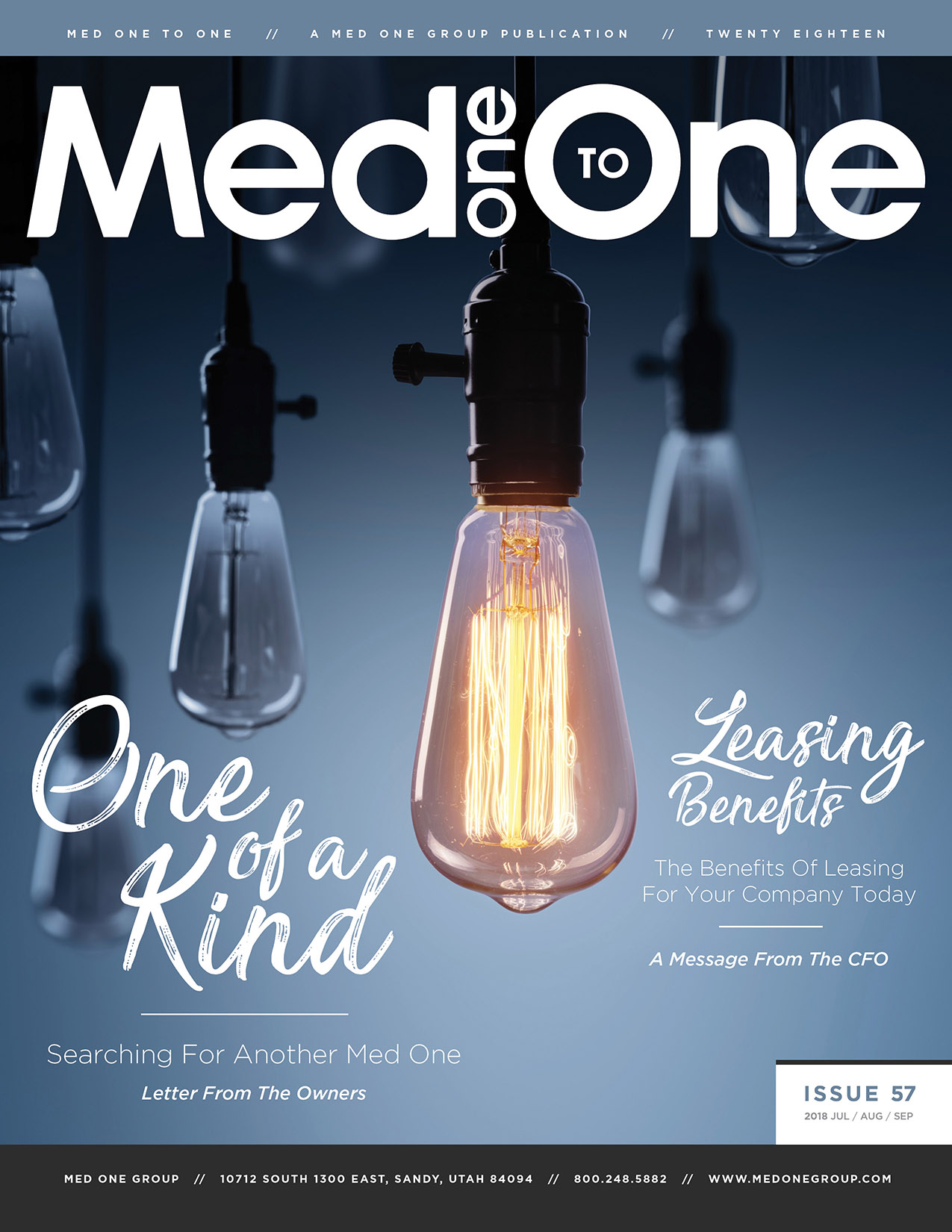 Med One to One Number 57 Cover