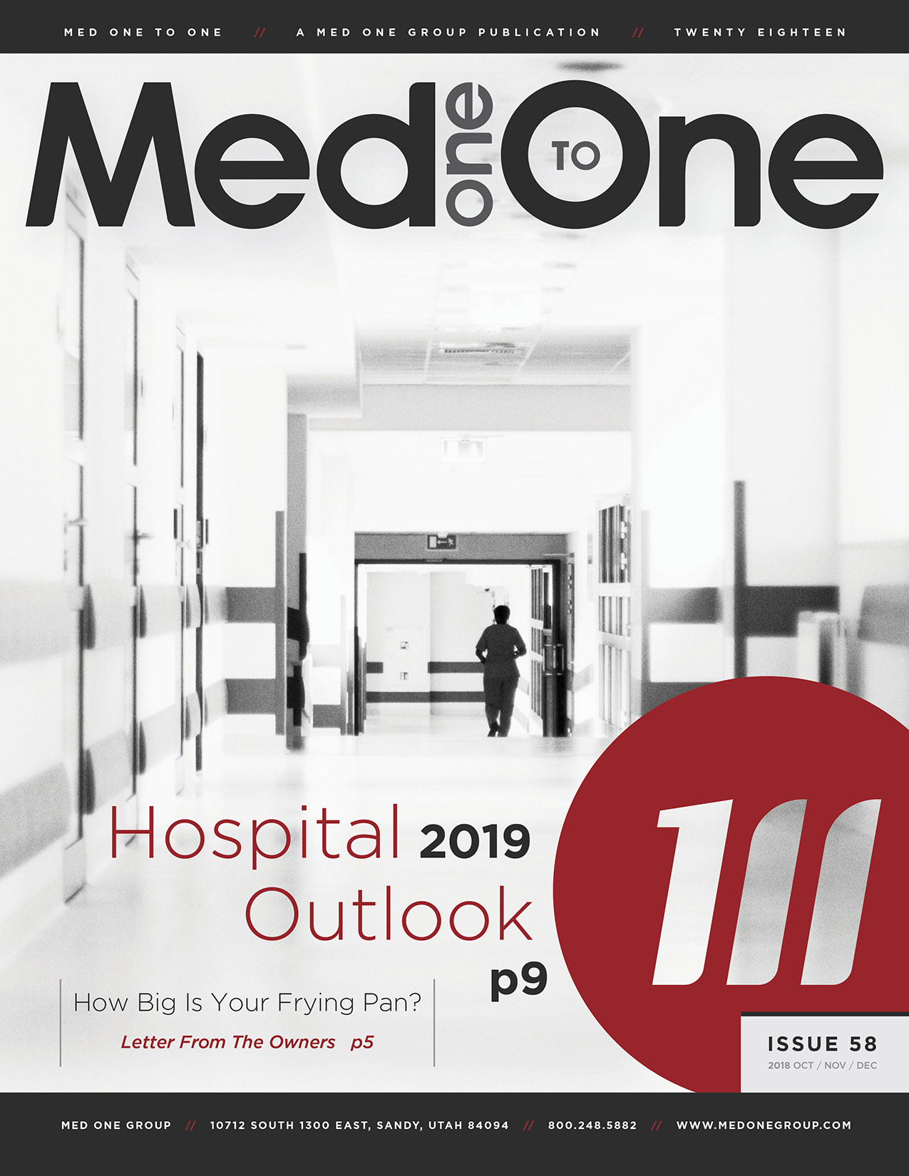 Med One to One Number 58 Cover