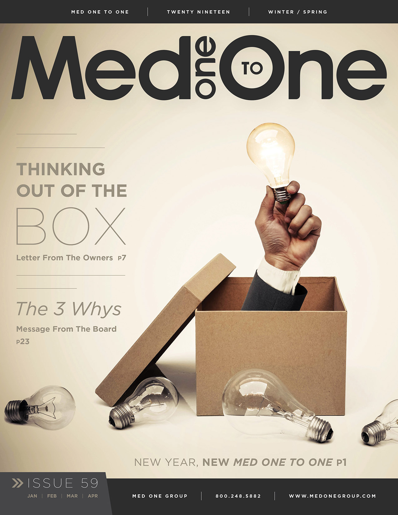 Med One to One Number 59 Cover