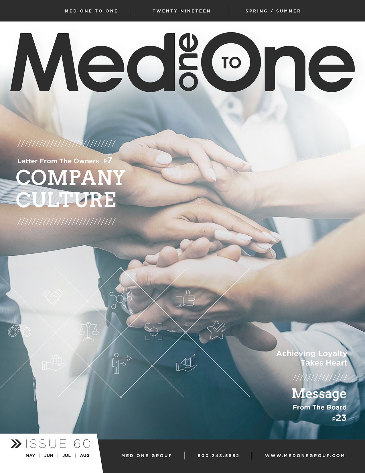 Med One to One Number 60 Cover
