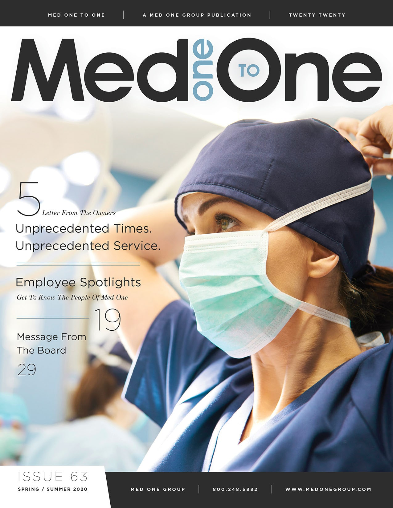 Med One to One Issue 63 Cover