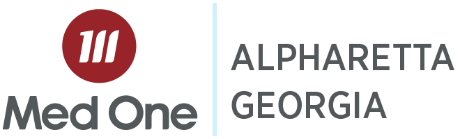Alpharetta Georgia Distribution Med One Logo