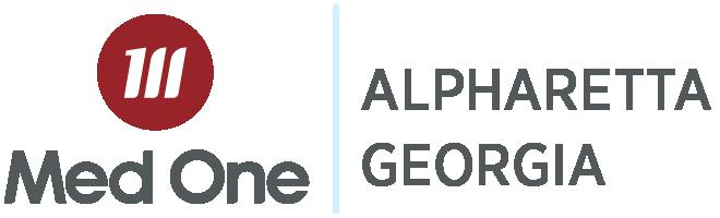 Alpharetta Georgia Distribution Med One Logo
