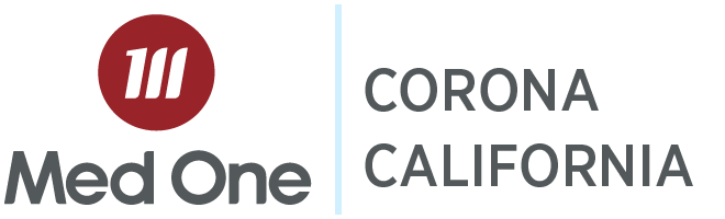 Corona California Distribution Med One Logo