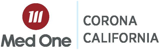 Corona California Distribution Med One Logo