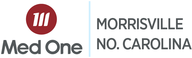 Morrisville North Carolina Distribution Med One Logo