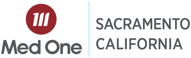 Sacramento California Distribution Med One Logo